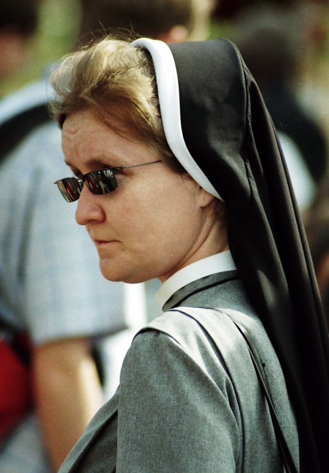 nun sunglasses